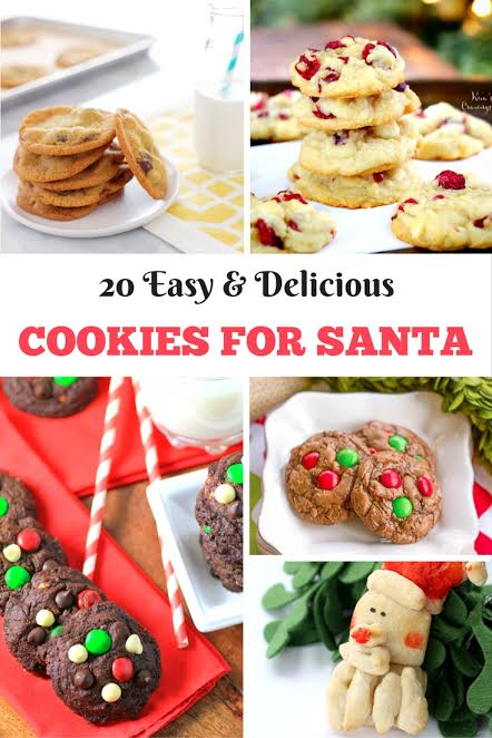 20 Easy Delicious Cookie Recipes To Leave Out For Santa