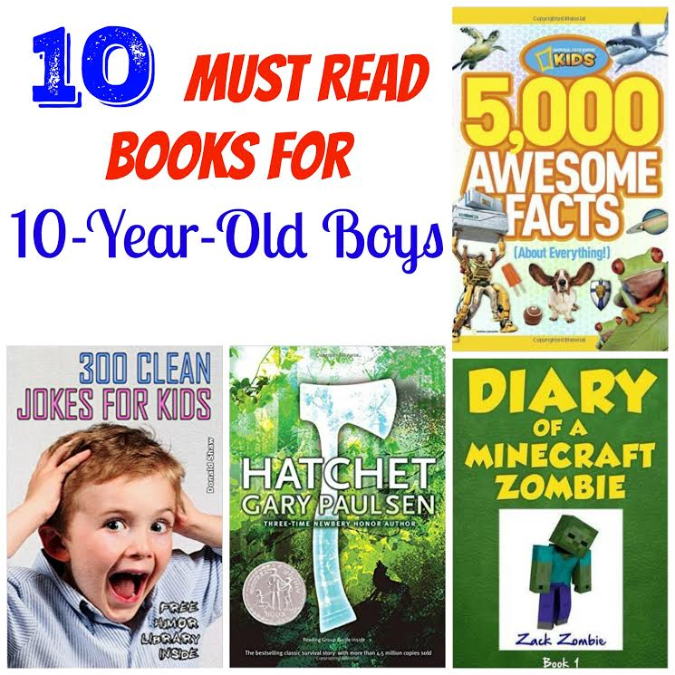 Here Are 10 Must Read Books For 10 Year Old Boys