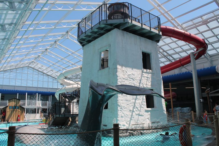 cape cod water slide wave pool