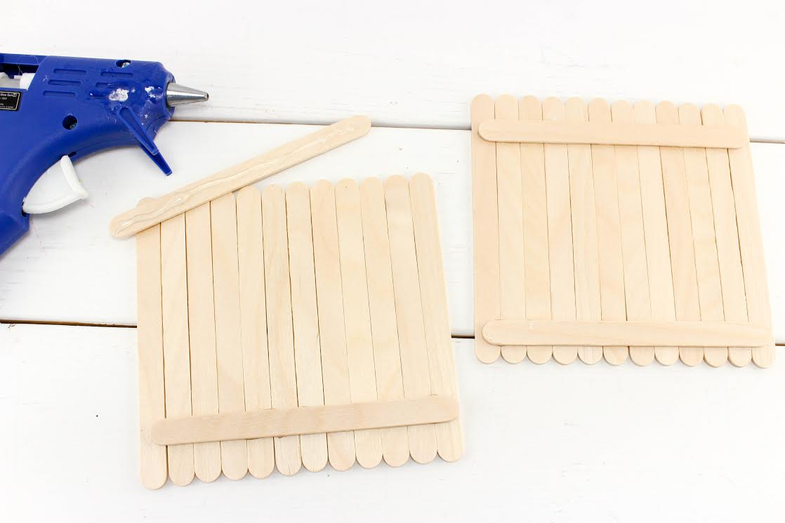 craft stick napkin holder