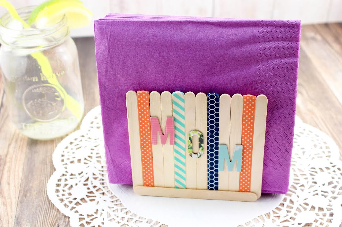 This Diy Mother S Day Napkin Holder Is Easy To Make It S Useful And Mom Will Love It