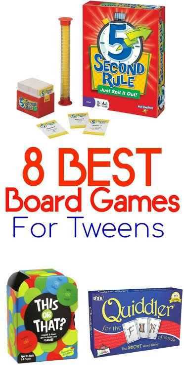 Super fun games for pre-teens