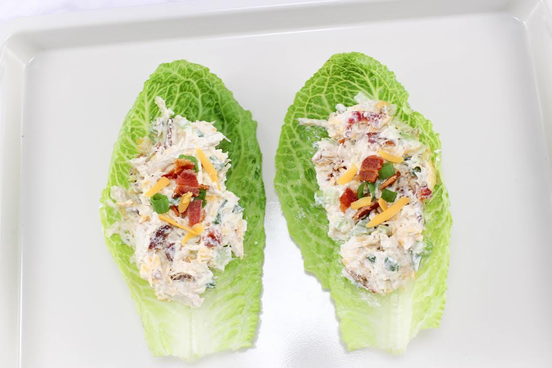 Try your homemade chicken salad on a lettuce wrap next time. It's good!