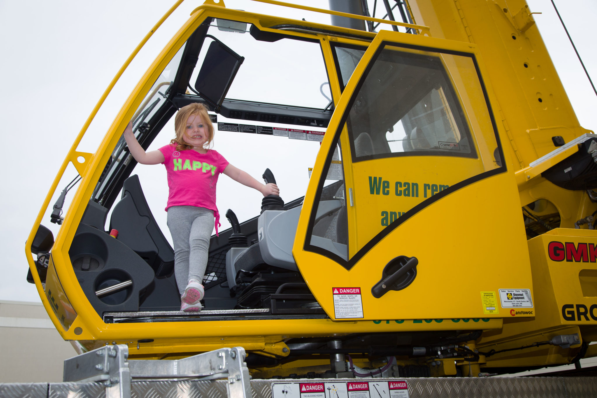 Auburn Mall hosts touch a truck on september 23, 2017!