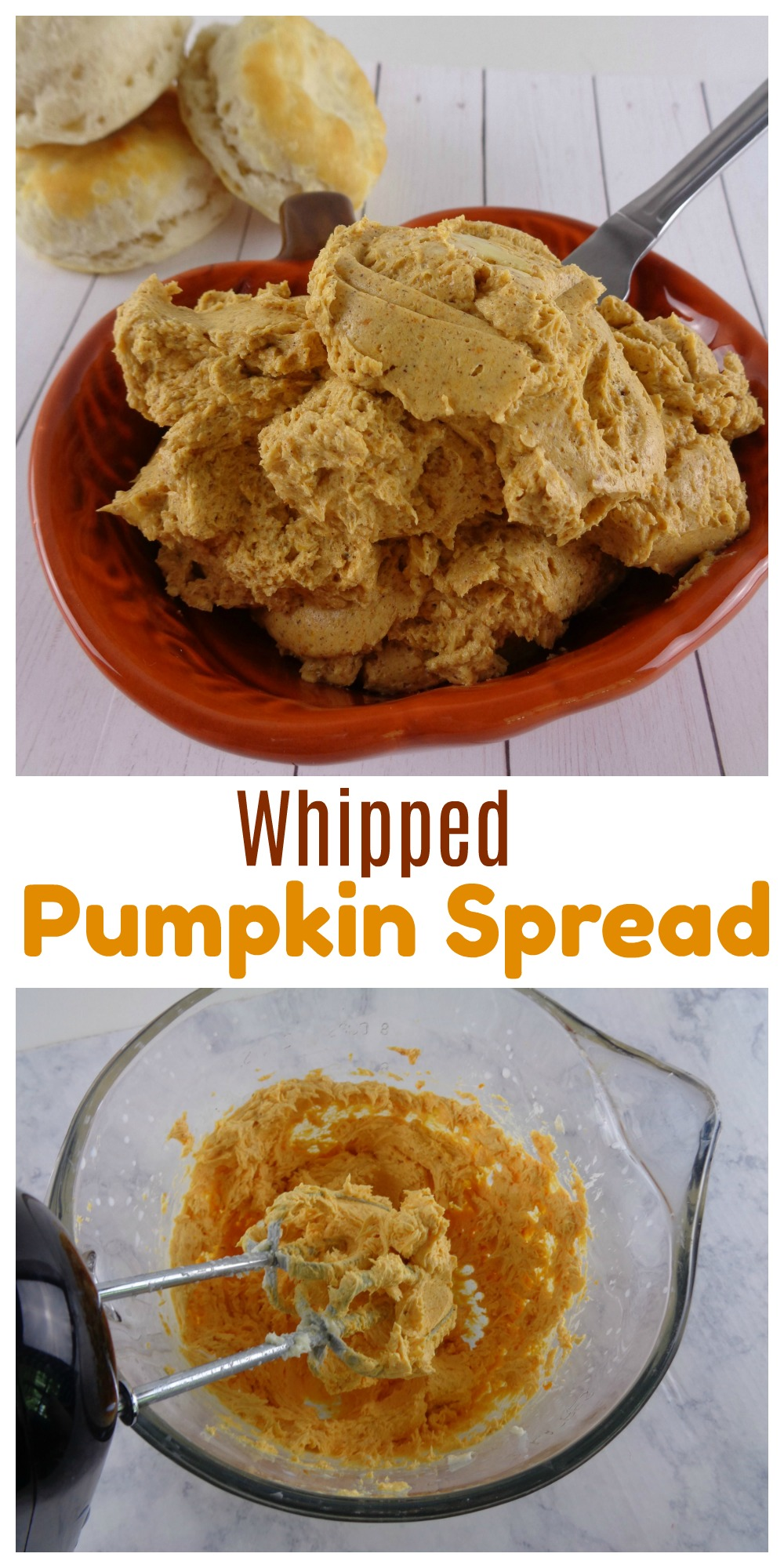 If you're in the mood for a quick pumpkin recipe, try some of this Whipped Pumpkin Spread. It's easy, really delicious and will satisfy your pumpkin craving