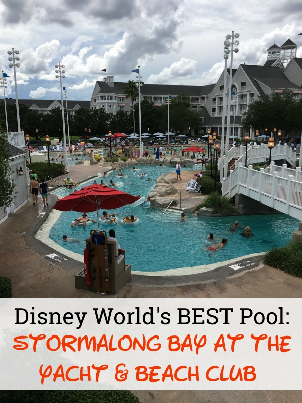 Stormalong Bay is arguably the best pool at Walt Disney world. Located at the Yacht & Beach Club, it's a mini water park and a great break from the parks.