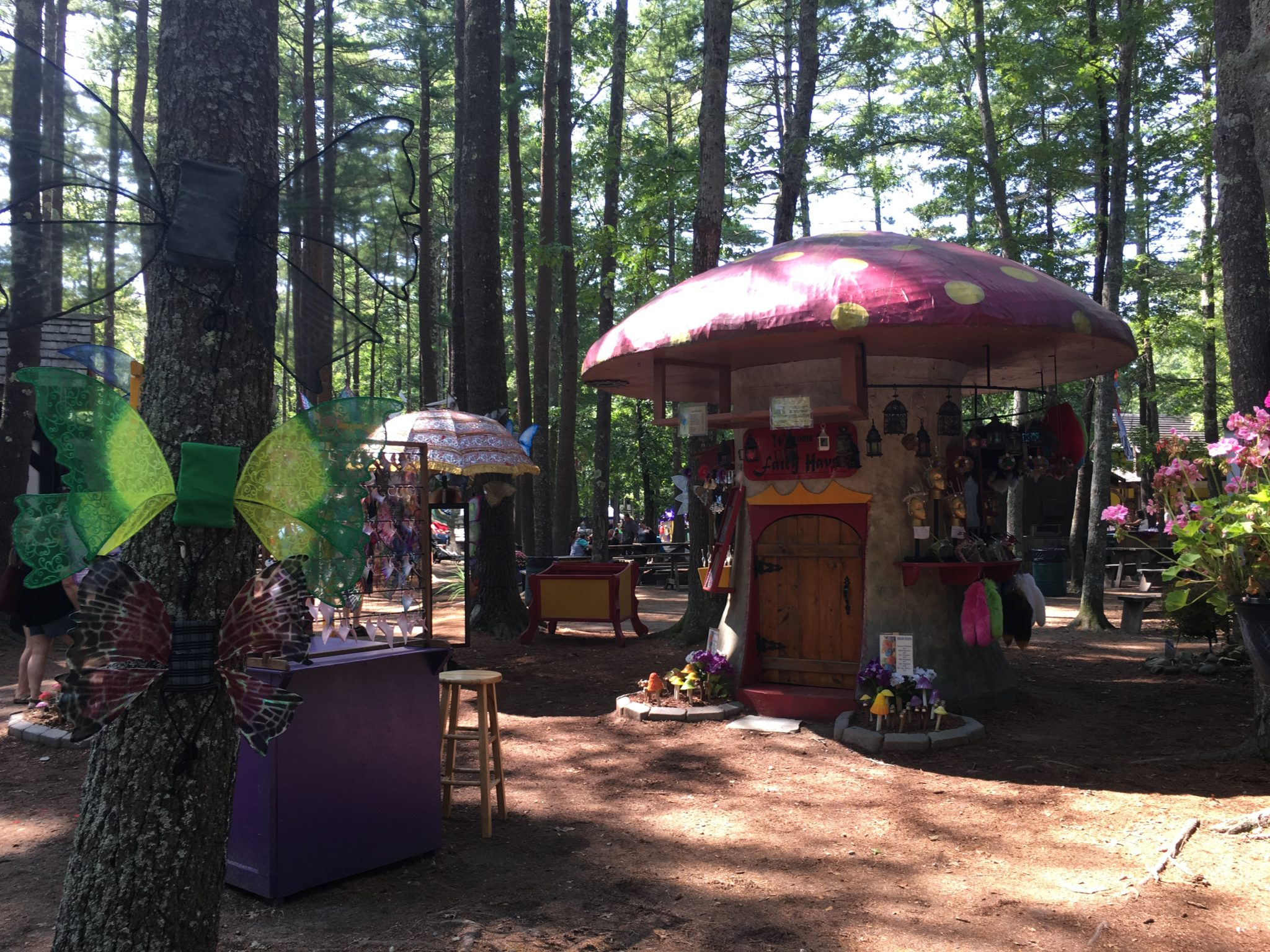 Buy lots of handmade goods at King Richard's Faire.