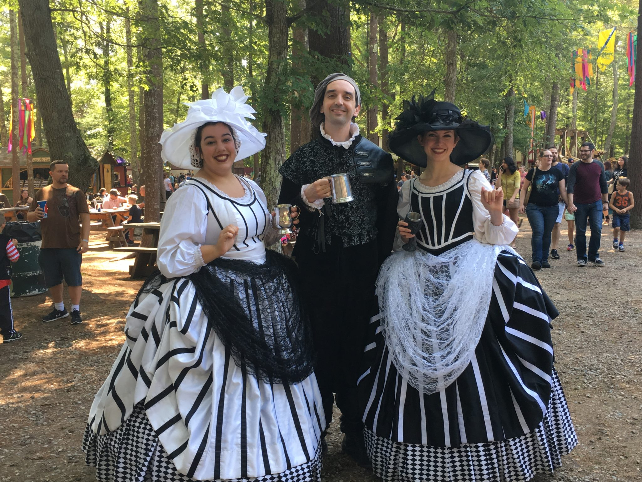 There is tons of cosplay at King Richard's Faire!