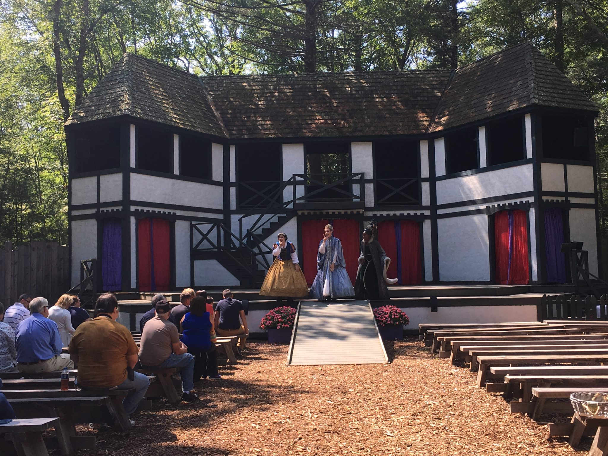 There is endless entertainment at King Richard's Faire