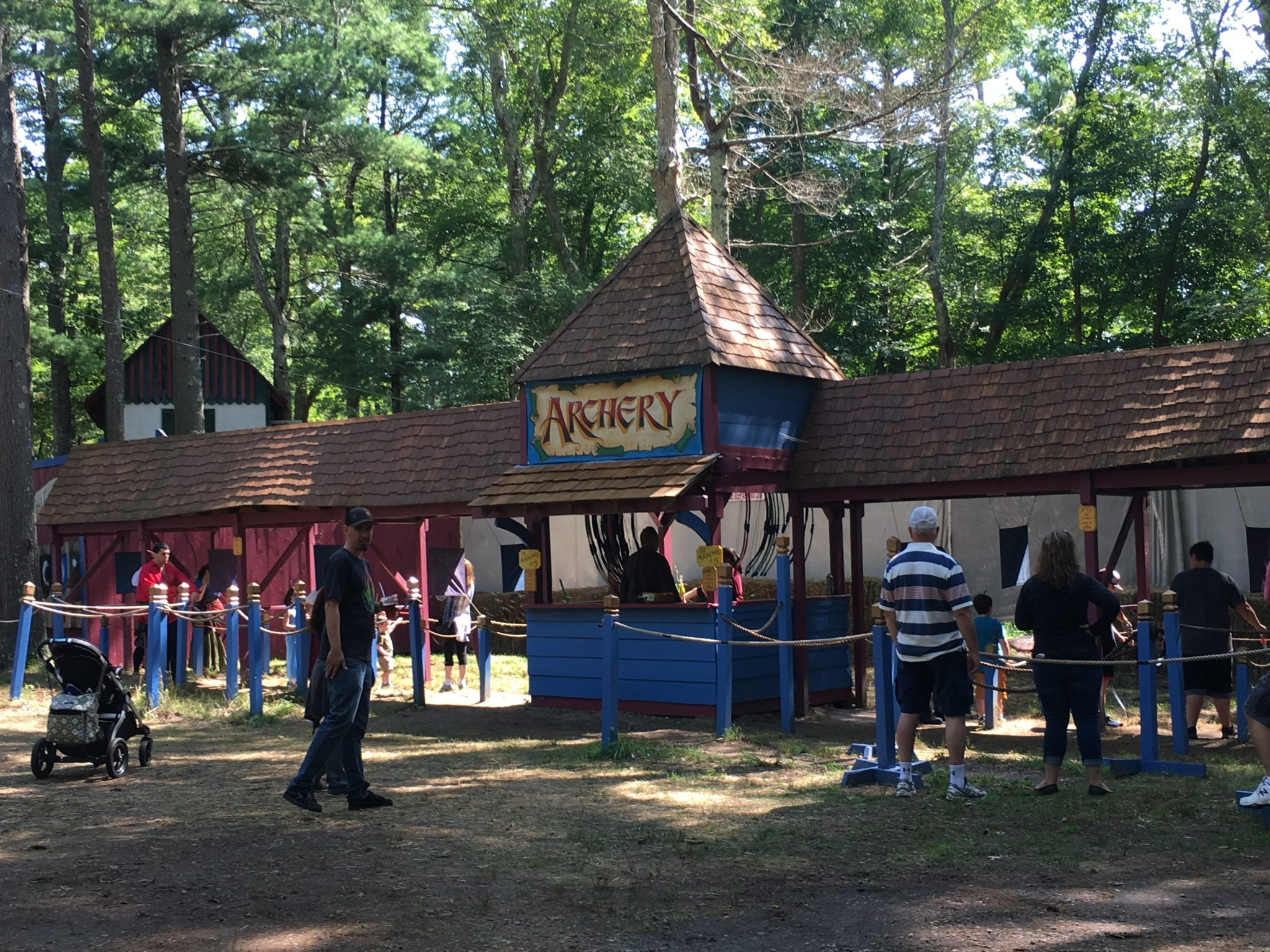 Try your hand at archery at King Richard's Faire!
