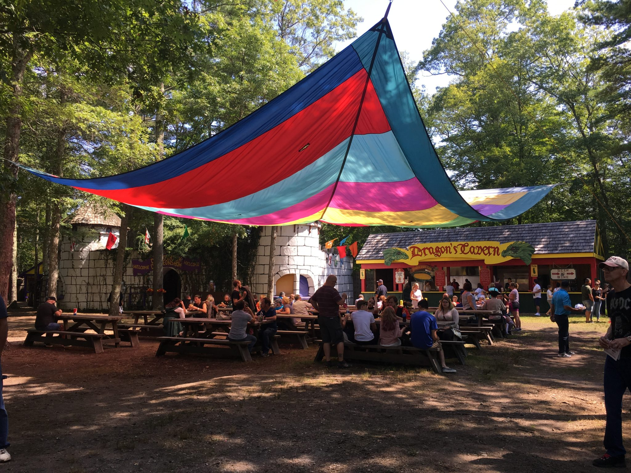 There are lots of great food options at King Richard's Faire!