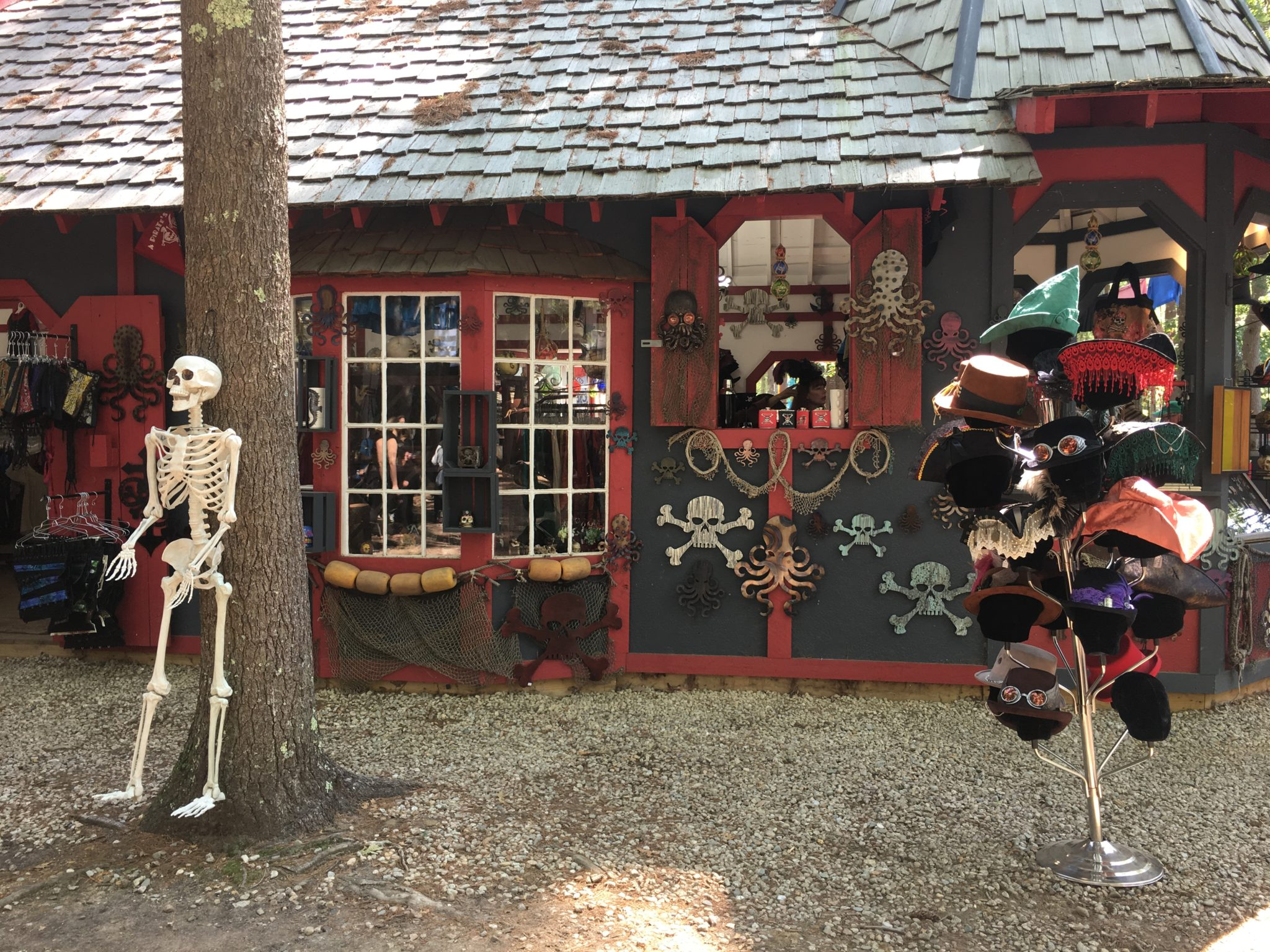 Handmade artisans sell lots of wonderful goods at King Richard's Faire.