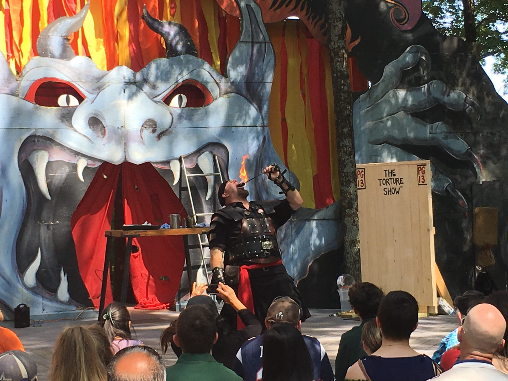 The Torture Show at King Richard's Faire!