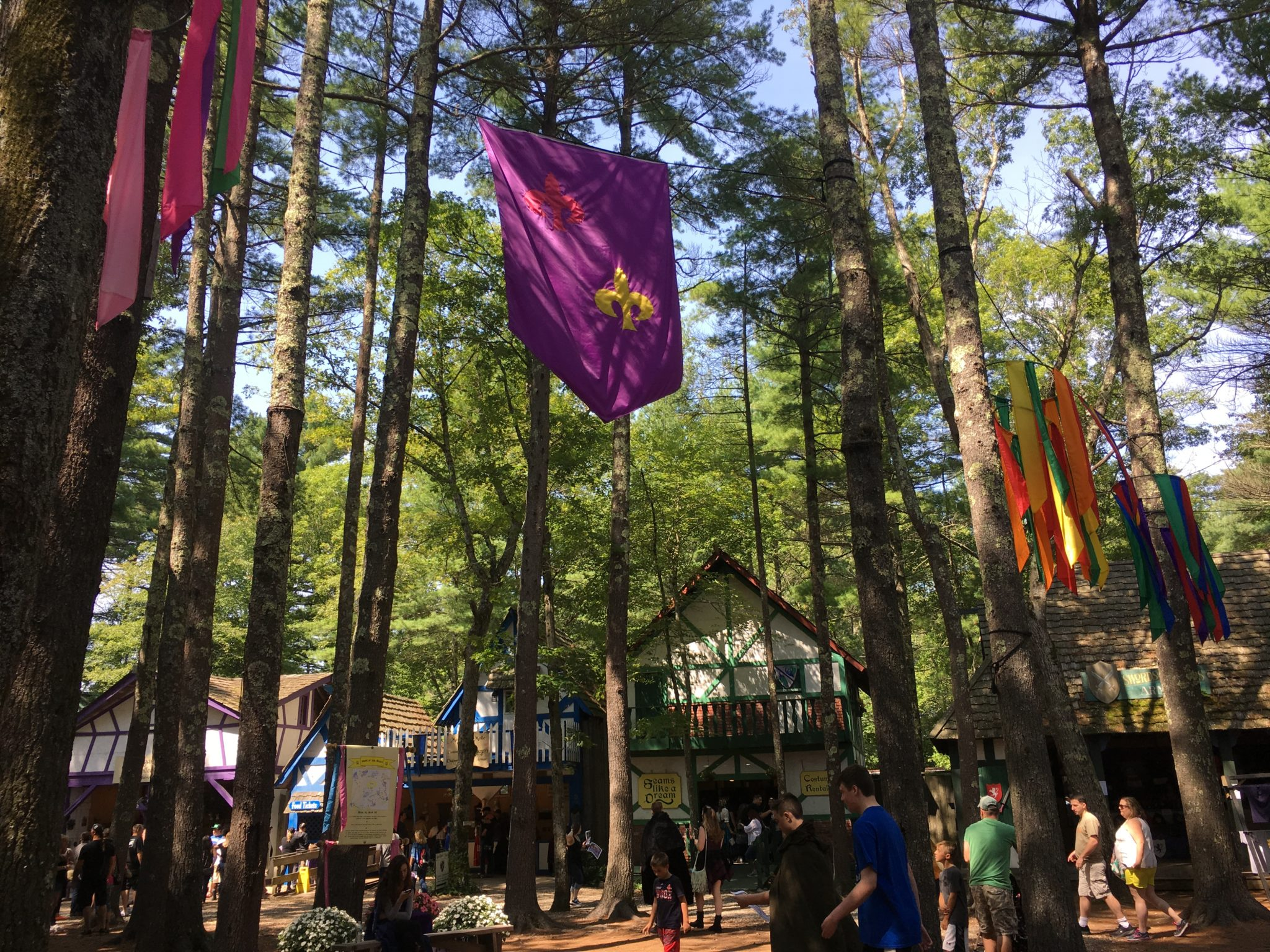 There is so much fun to be had at King Richard's Faire in southeastern Massachusetts!