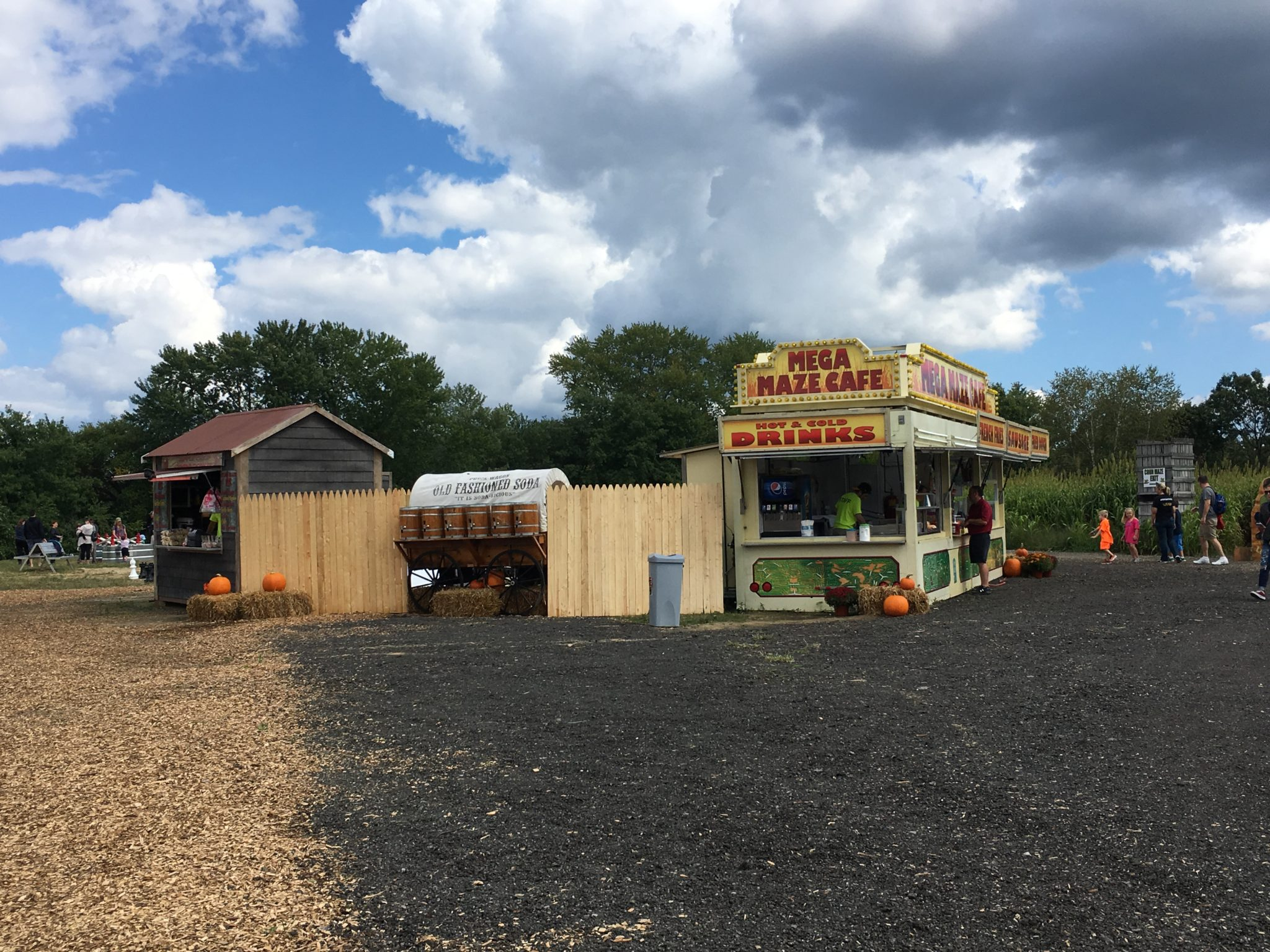 Getting lost in a corn maze is one of the most fun things you can do with your family in the fall. Mann Orchard's Riverside Farm Corn Maze is now open!