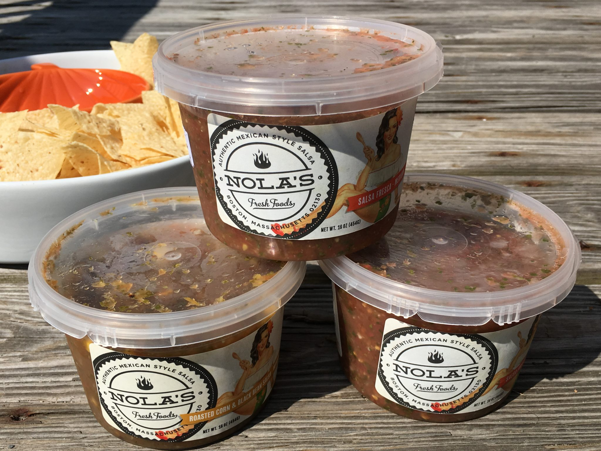 Nola's Fresh Foods salsa is an authentic Mexican salsa. No artificial preservatives, colors or flavors, no sugar and no oils & they're Vegan and Gluten Free.