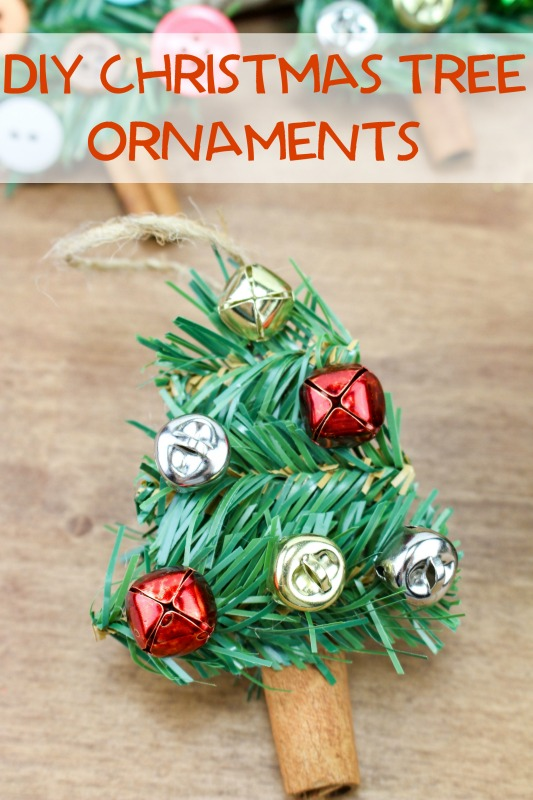 These DIY Christmas Tree Ornaments are an easy way to make some fun new ornaments for your tree this year. Get creative and decorate them however you like!