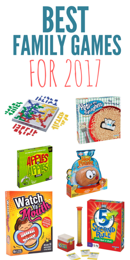 Here are some of the best family board games to buy for 2017! You might find a few fun games to add to your collection and create some new fun memories.