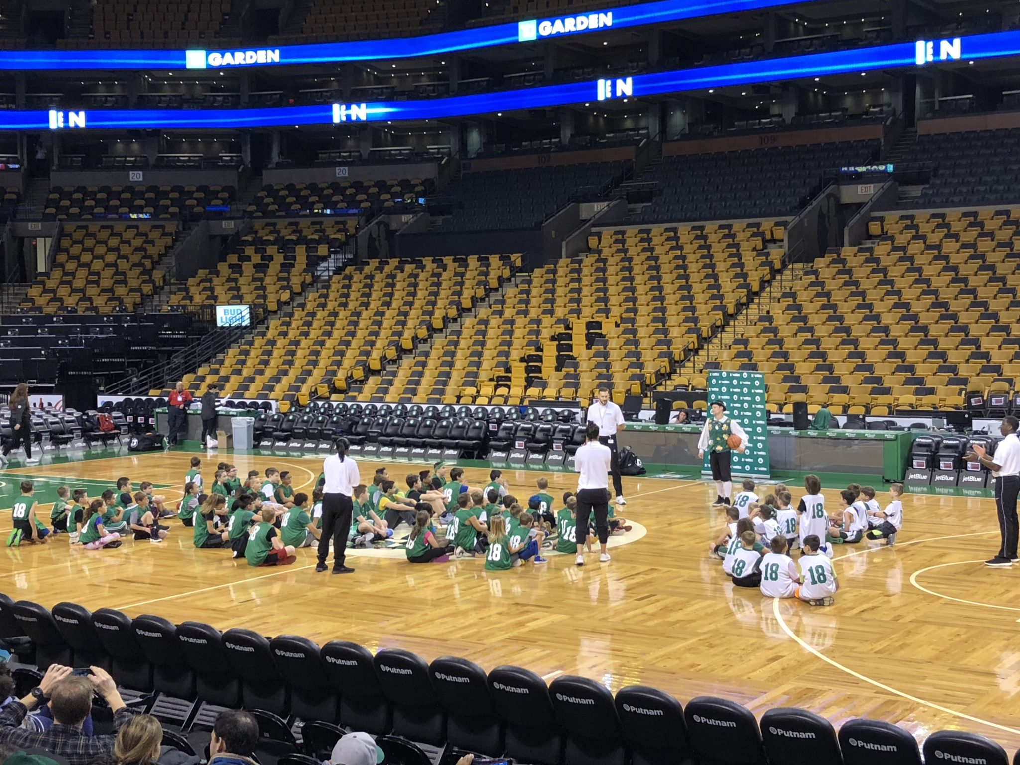 The Boston Celtics are providing the ultimate basketball experience for kids throughout New England by launching the 'Jr. Celtics' program.