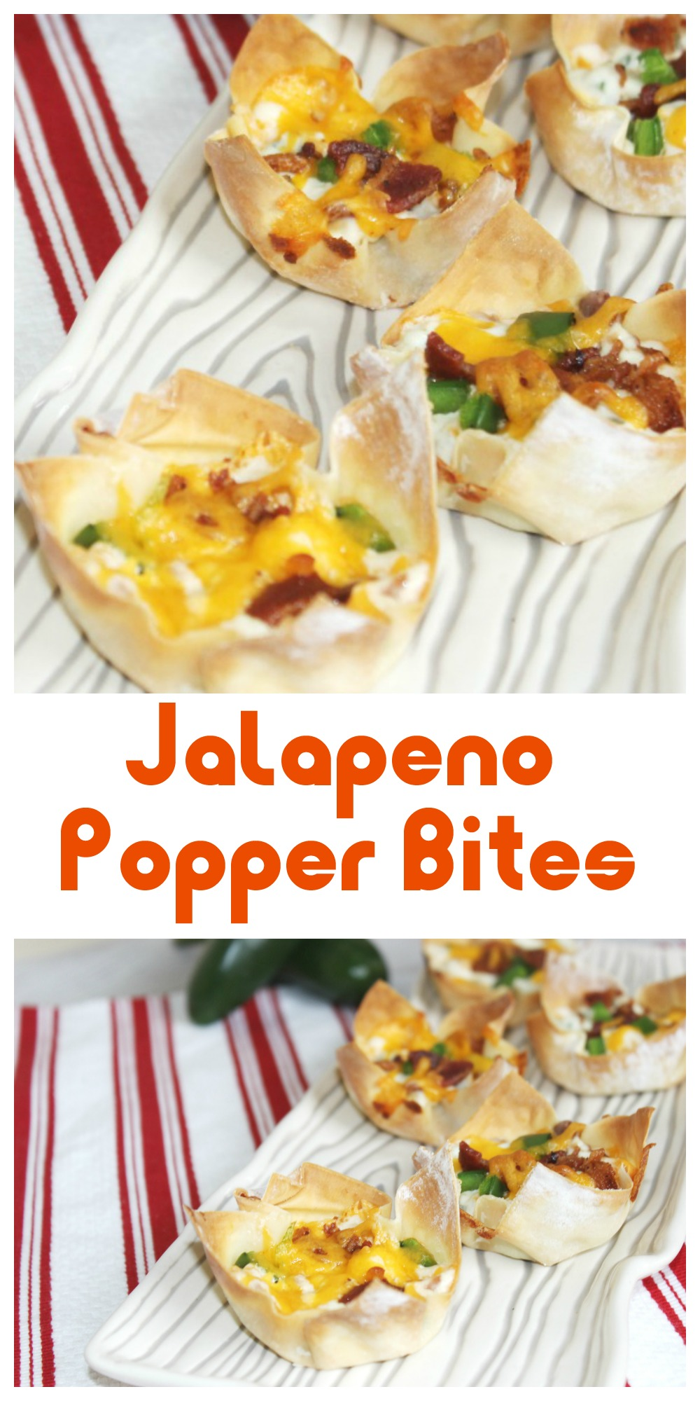 If you're looking for an easy appetizer, these Jalapeno Popper Bites are delicious & ready in a jiffy. They're delicious and make a great movie night snack.