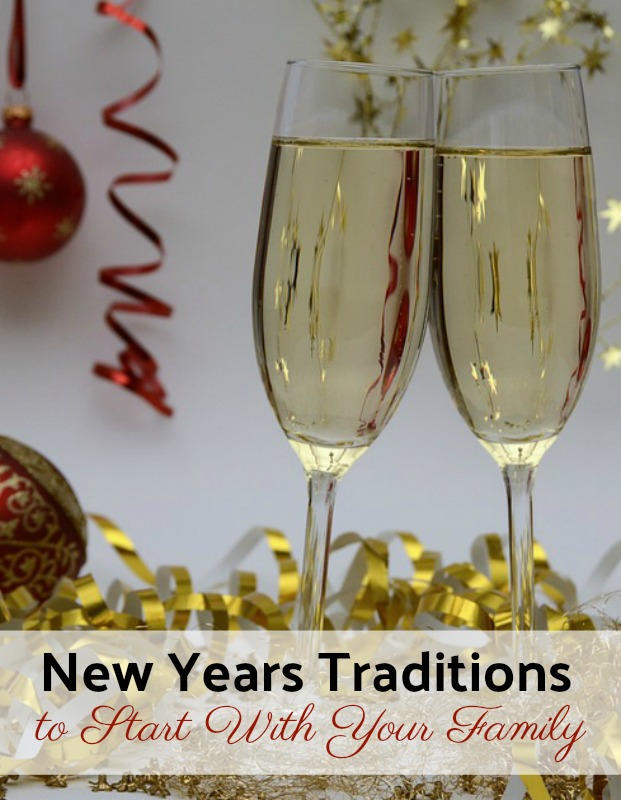 Start a family New Years Tradition this year! If you're wondering what you can do to ring in the new year as a family, check out this list for inspiration!