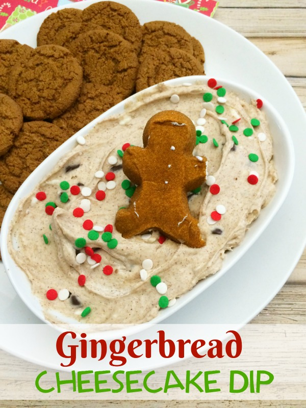 If you are looking for a festive dish to bring with you to all your Christmas get-togethers this year, try this delicious Gingerbread Cheesecake Dip.