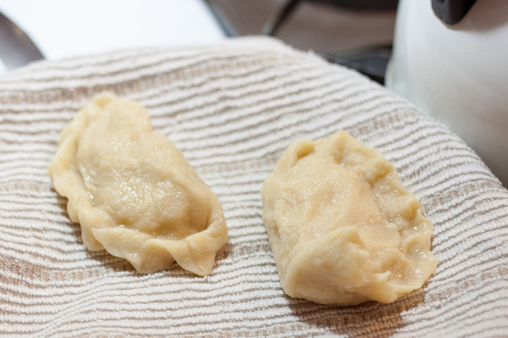 I'm not going to lie, these homemade pierogies are a lot of work to make, but TOTALLY worth it. No frozen, store-bought, mass produced product can compare to these.
