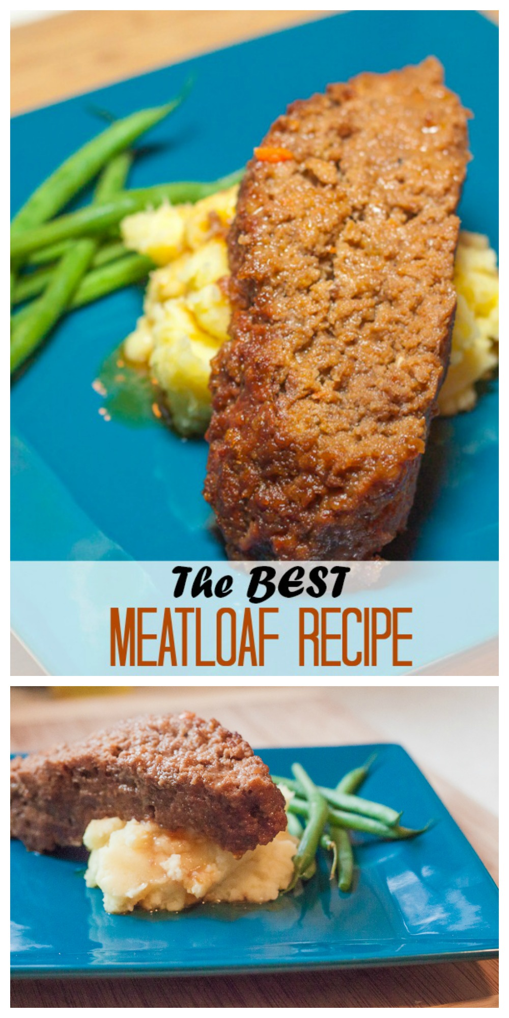 Moist, juicy, delicious meatloaf with some surprising sauce ingredients that might just make you reconsider your opinion of meatloaf in general!