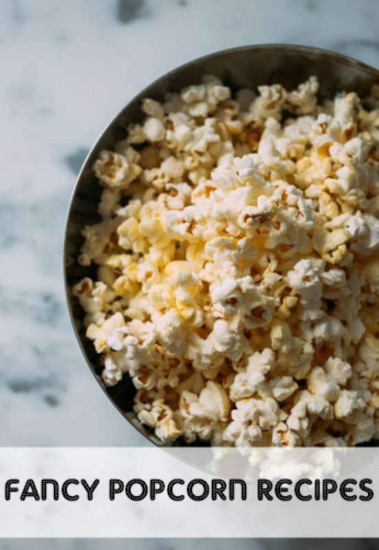 Popcorn is the perfect movie night snack, but why not get fancy with your popcorn this week? Try one of these 5 fancy popcorn recipes on your next movie night.