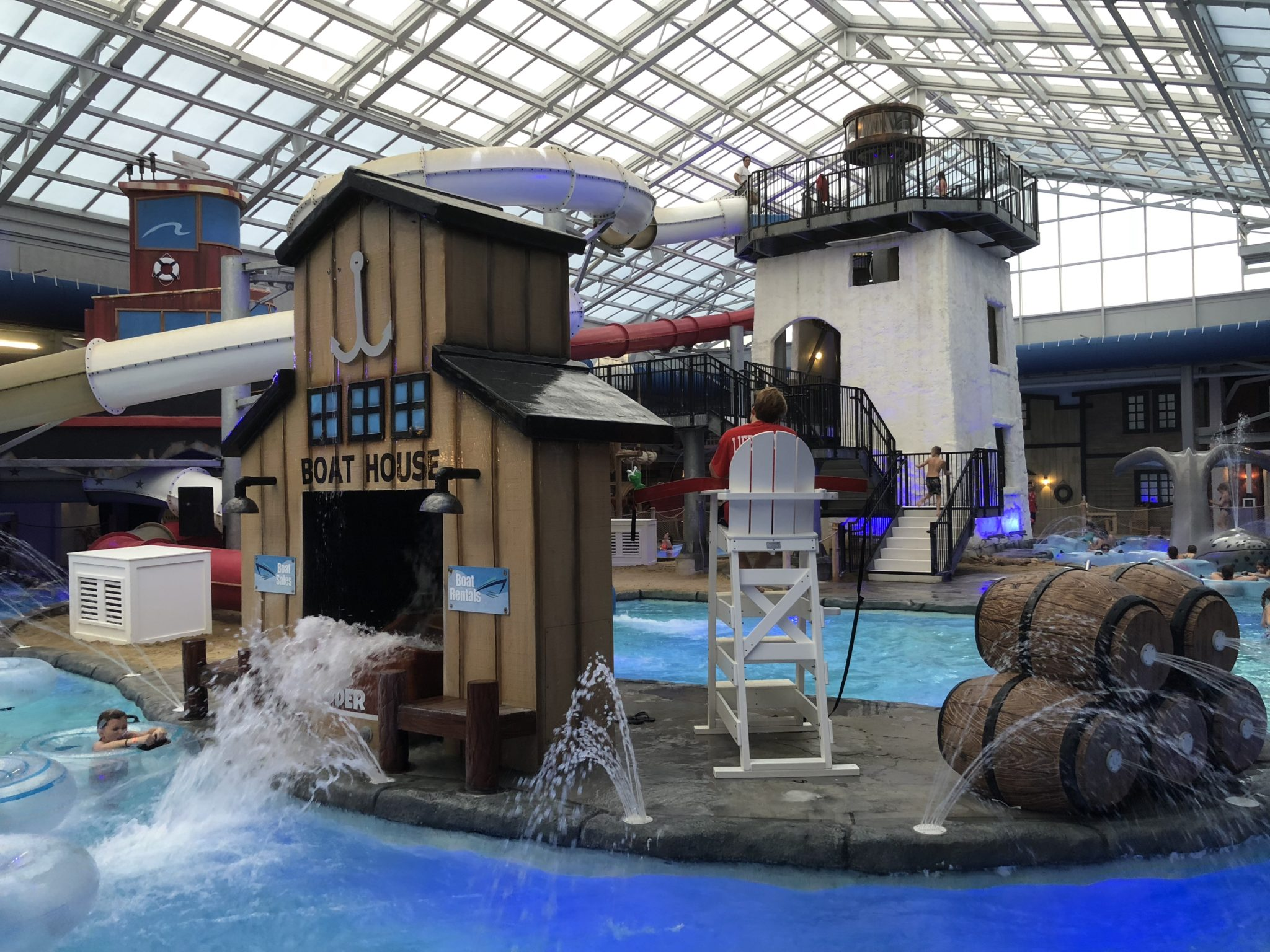 The Cape Codder has an indoor water park, a wide variety of room options, several restaurants, a full service spa and more. Everything you need to enjoy your getaway is located all under one roof!