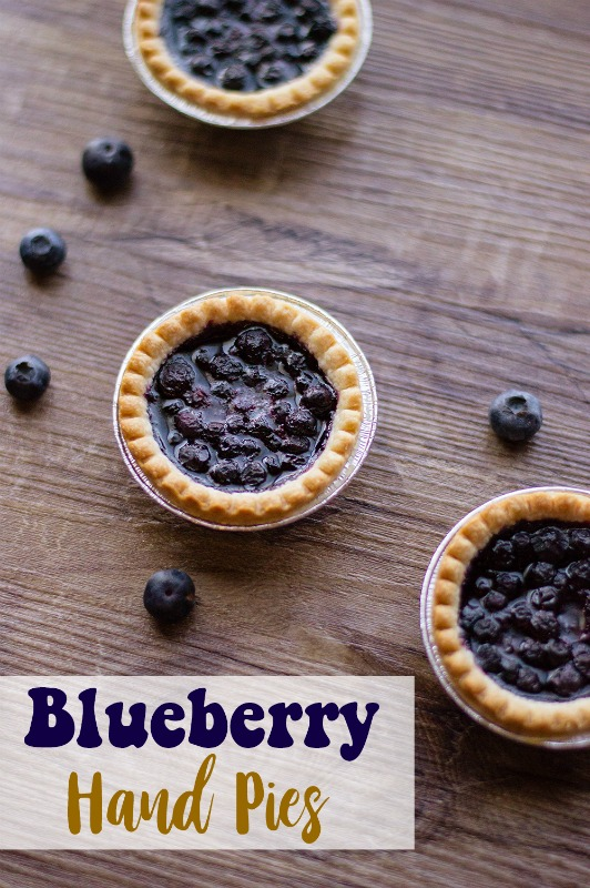 These Blueberry Hand Pies are a quick, easy and delicious dessert! If you love individual sized desserts, this is the recipe for you!