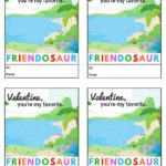 If your child wants to impress their friends at school, have them hand out some of these adorable Printable Dinosaur Valentine's Day Cards for their classroom exchanges this year.