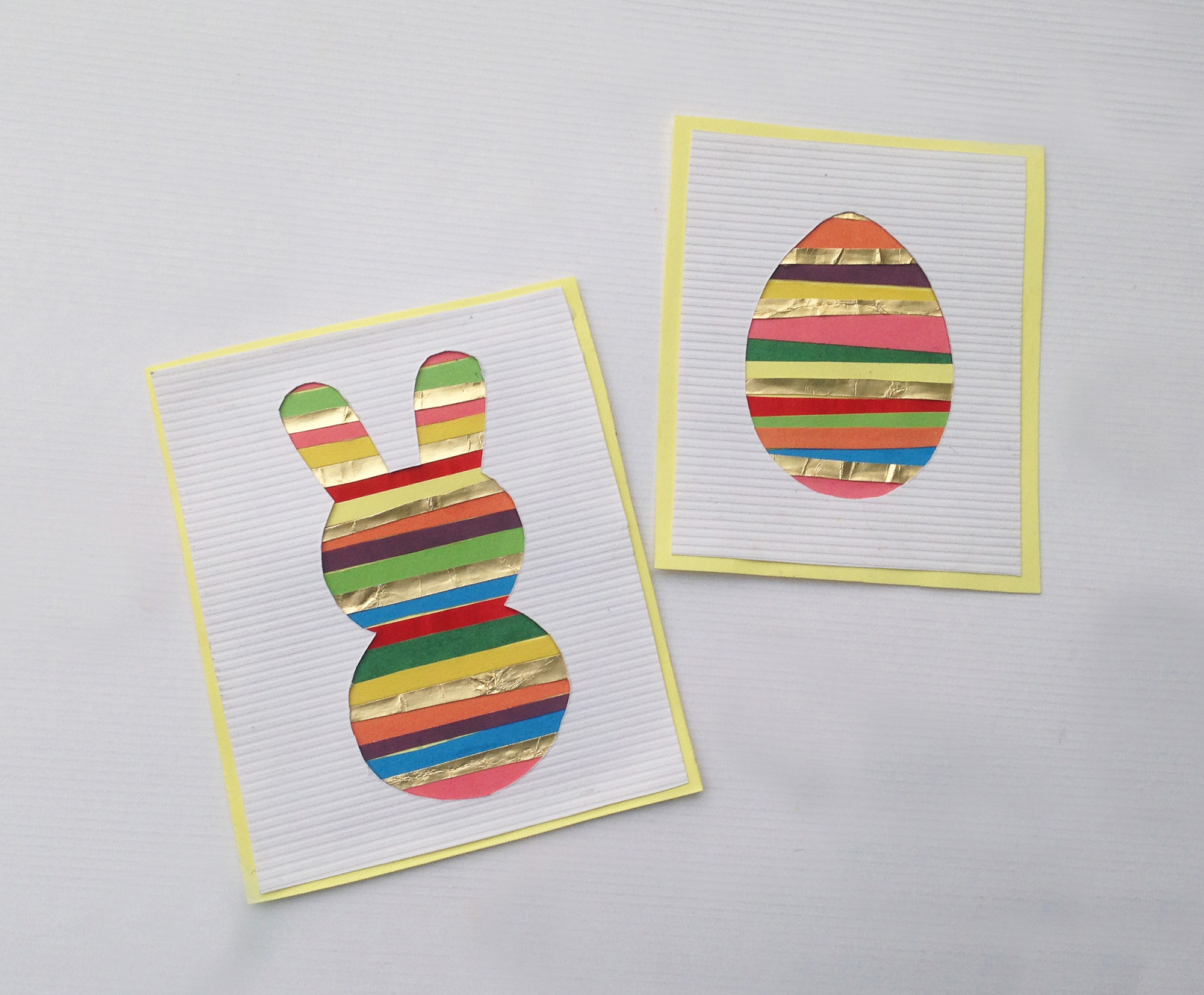 If you are looking for an easy Easter art project to do with your kiddos, try this one! You only need a few supplies and you can really let your creativity shine through with this craft.