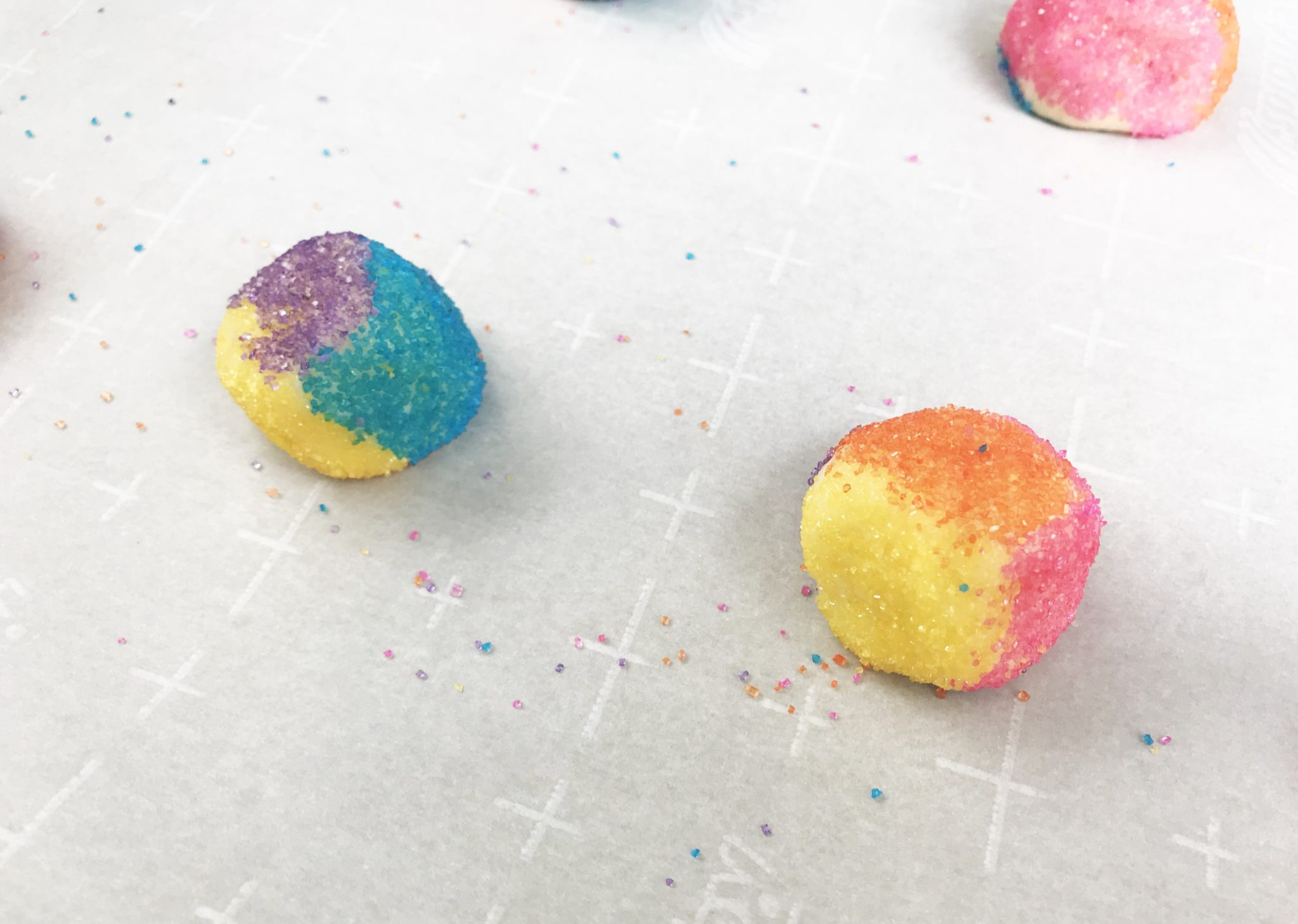 These Unicorn Kiss Cookies are a magical and delicious treat. Whip up this recipe in under a half hour and impress your family with these colorful cookies!