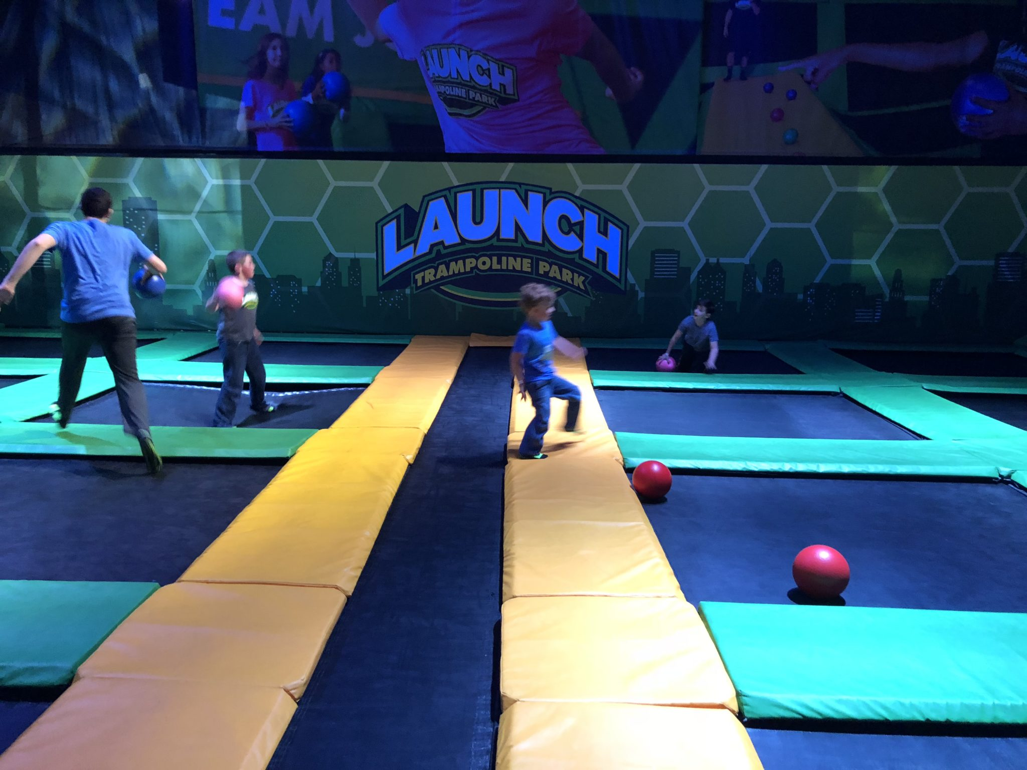 Did you know that Launch RI just got a major upgrade? It's not just a trampoline park anymore. Of course they still have trampolines, but now they have a bunch of seriously awesome attractions (a Ninja Warrior Course, Extreme Dodgeball and Laser Tag to name a few).