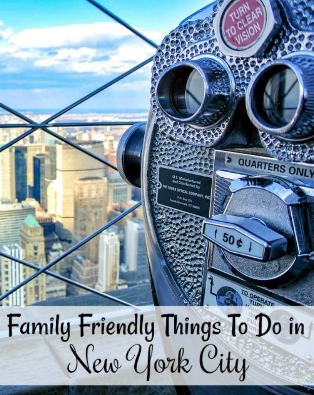 There are Lots of Family Friendly Things To Do in New York City! If you are planning a trip to Manhattan or the surrounding boroughs, check out these fun family activities.