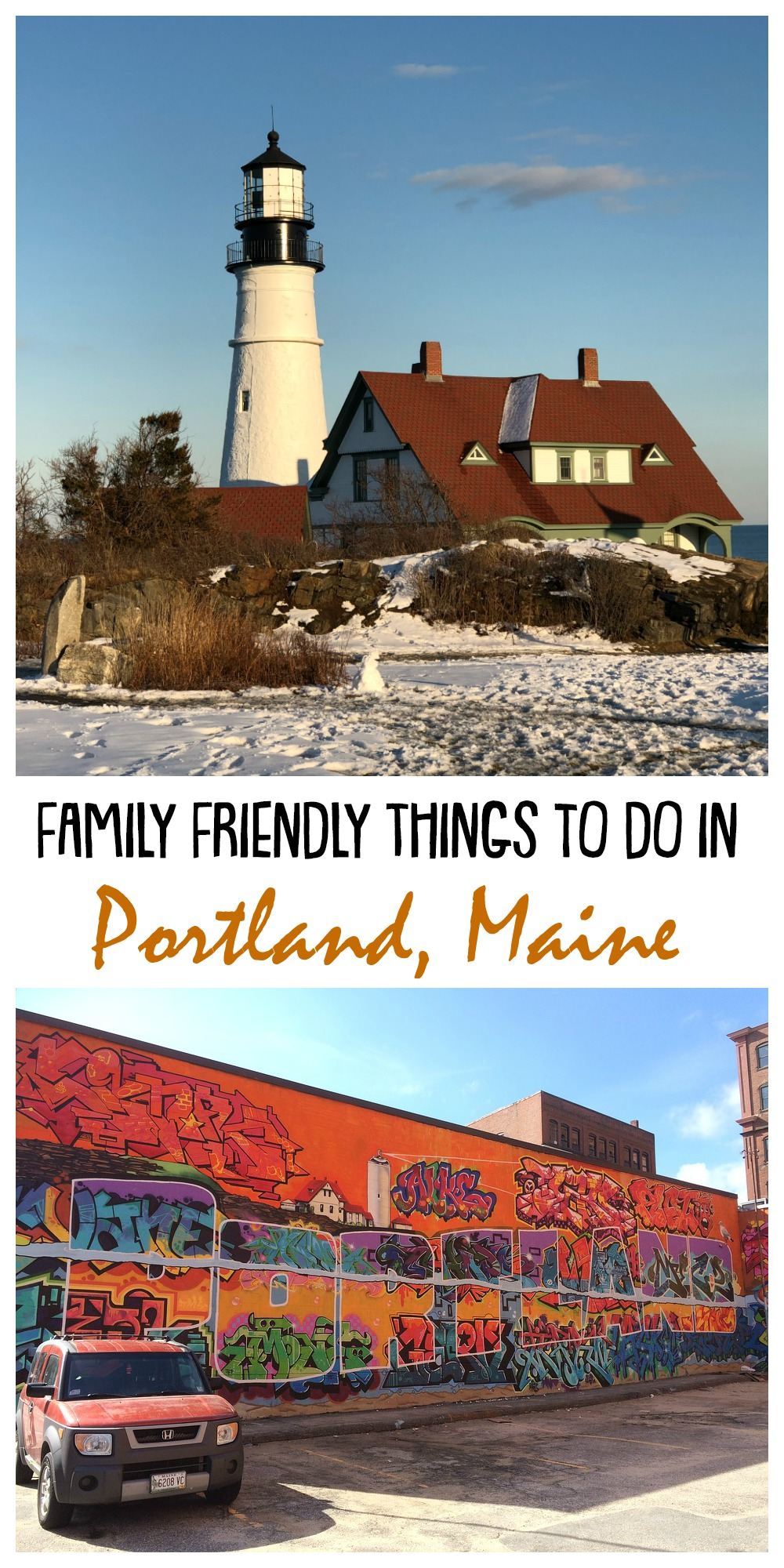 Here are some family friendly things to do while you are in Portland, Maine. There is no shortage of things to do while you're in Portland and it's a great vacation destination for your next trip to New England.