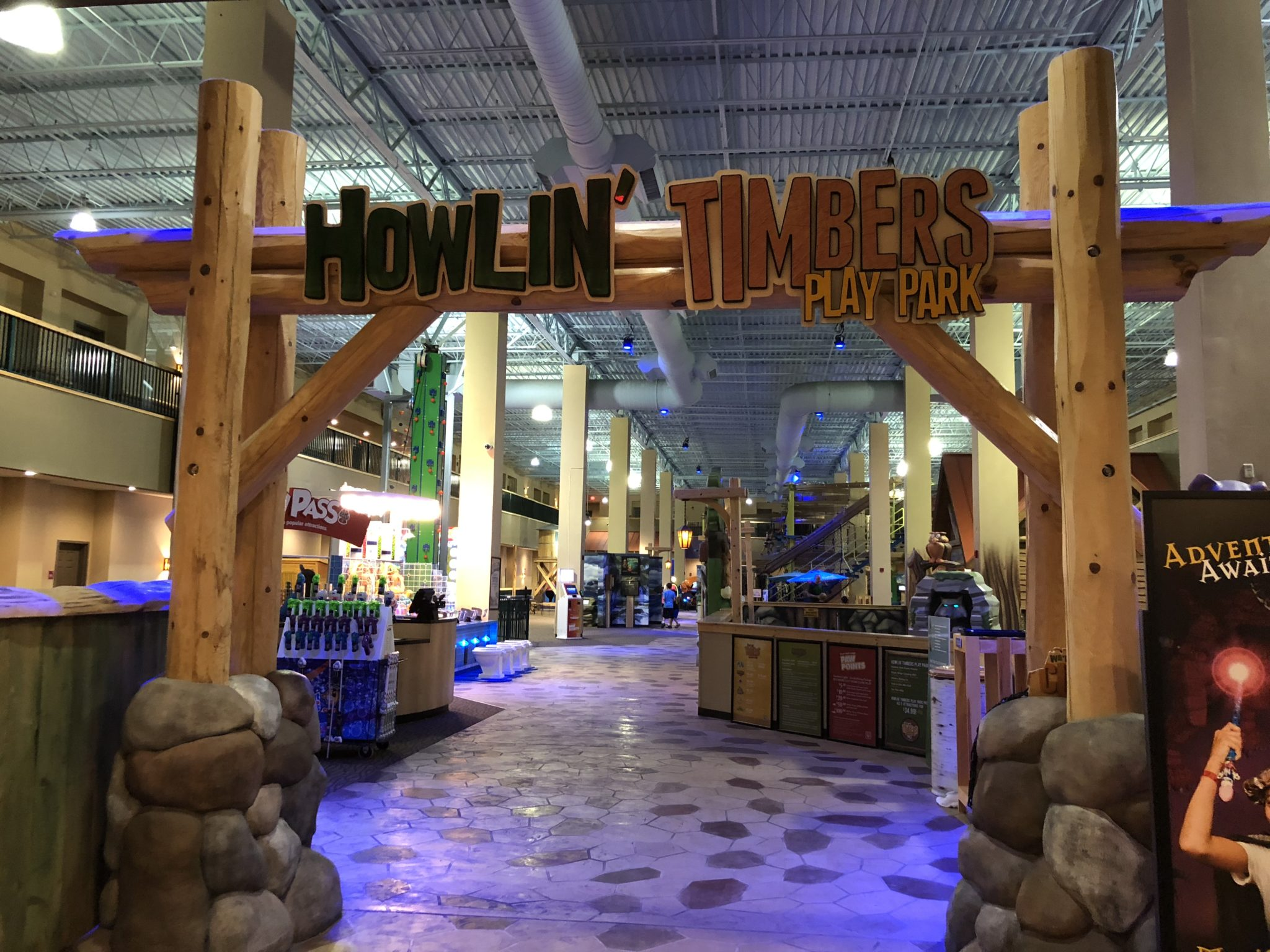 Great Wolf Lodge is more than just a water park. Sure, your family is in for an incredible water park experience when you visit, but there is much, much more including tons of family friendly attractions, shopping, entertainment and various dining options - all under one roof!