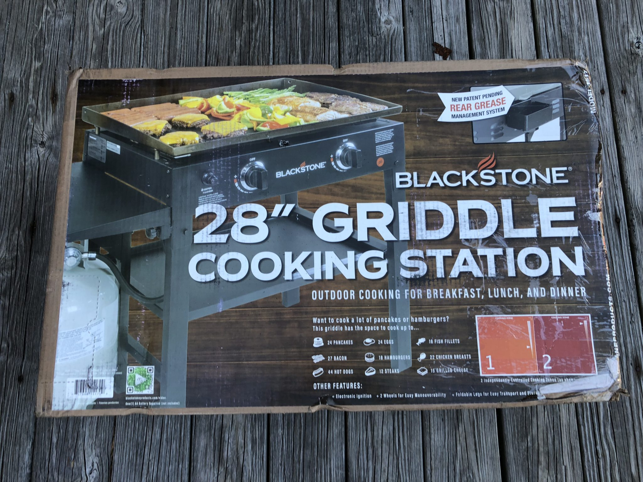 "Outdoor griddling goes beyond the ""same old, same old."" Anything that can be cooked on a typical grill can be cooked on a griddle - along with thousands of other foods."