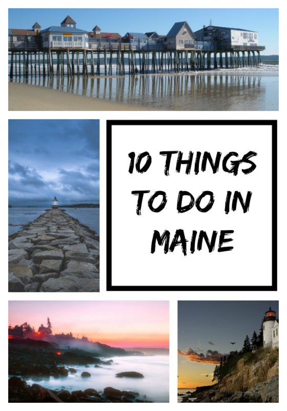 If you're planning a day trip or vacation this summer to the Northeastern state of Maine, then you'll want to check out 10 things to do while in Maine.