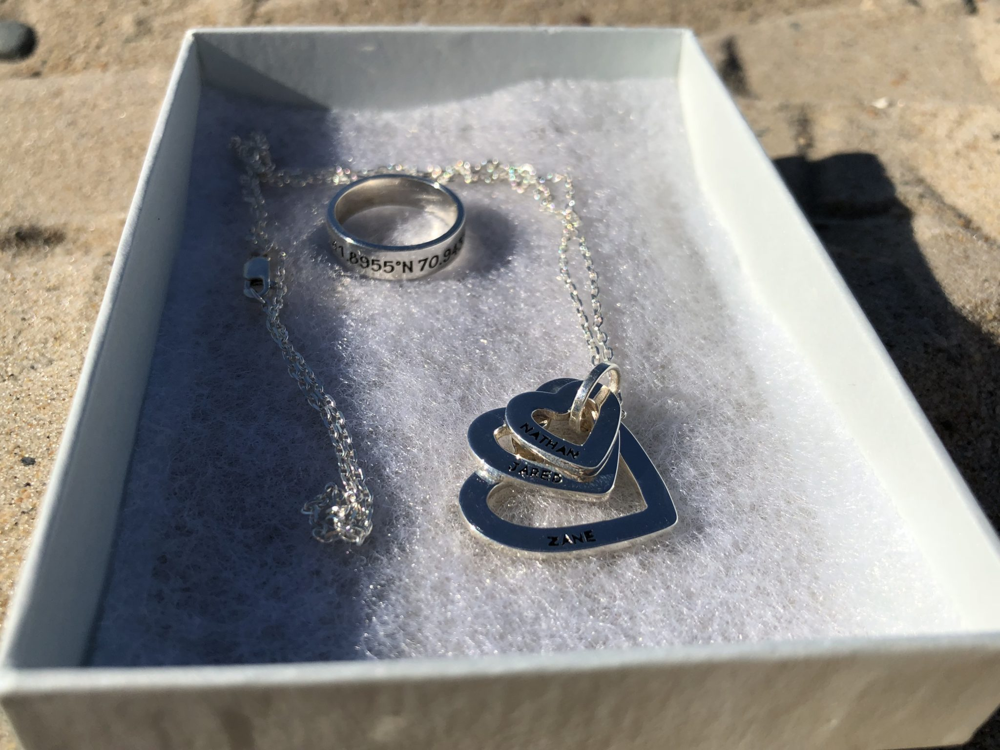 "Get your beautiful and affordable ""mom"" jewelry at Centime! Ordering is easy and their vast selection of pieces and options will win you over."