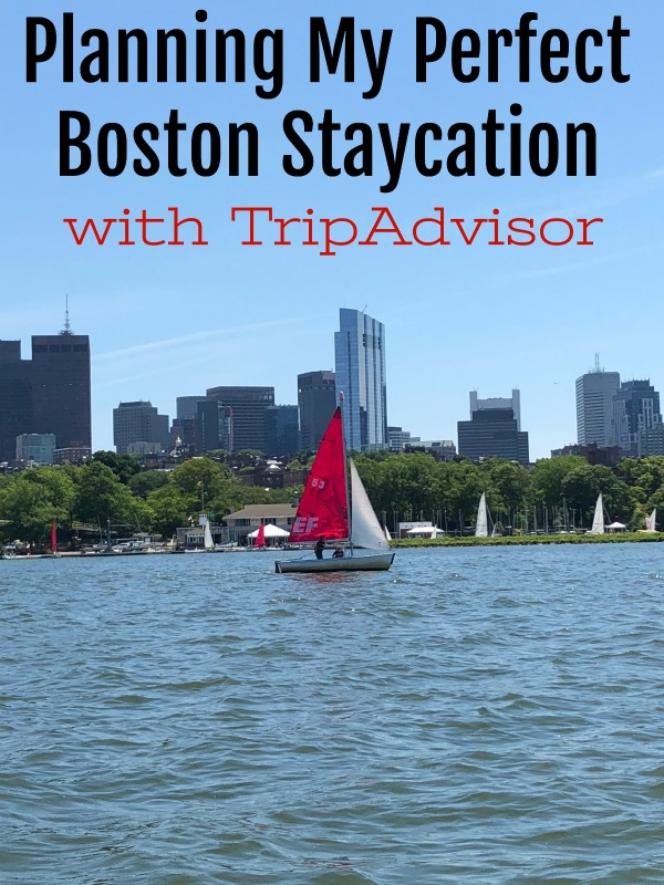 Did you know you can book experiences directly through TripAdvisor. I was able to book my perfect Boston Staycation on their site & you can, too!