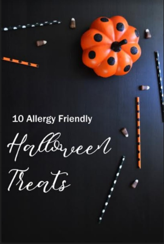 These ten allergy free goodies make popular hand outs for all the trick-or-treaters. This thoughtful act can make a child's Halloween much more special.
