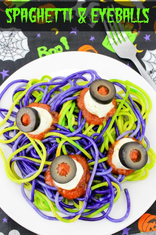 For a fun & spooky Halloween dinner, why not make some spaghetti & eyeballs! Watch your family's reaction when you serve this meal to them on Halloween!