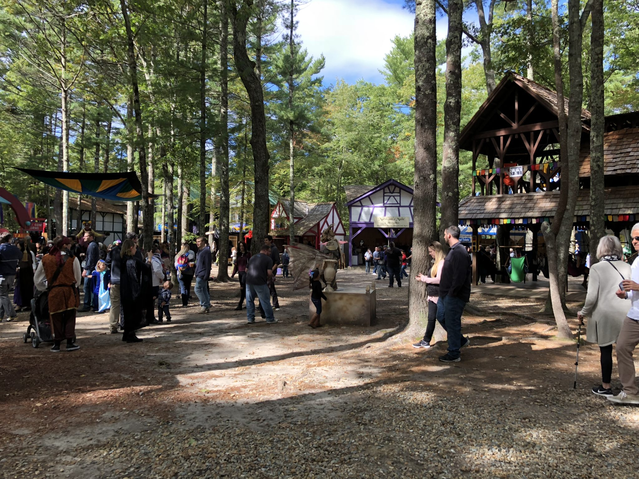 If you are looking for a fun and unique experience for your family, head to King Richard's Faire in Carver, MA. It's an experience like no other.