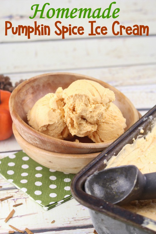 For a true taste of fall, whip up some of this homemade pumpkin spice ice cream. It's an easy recipe and if you love pumpkin, this is the treat for you.