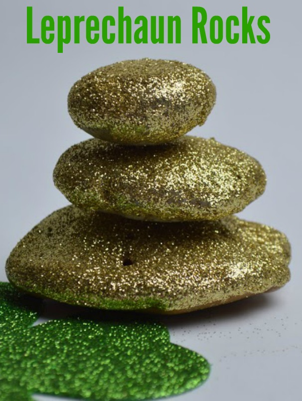 If you're in need of a fun and easy St. Patrick's Day craft idea, look no further than these Leprechaun Rocks.