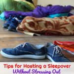 There are many parts that go into hosting a sleepover, and today I'm going to show you how to do so without stressing out.