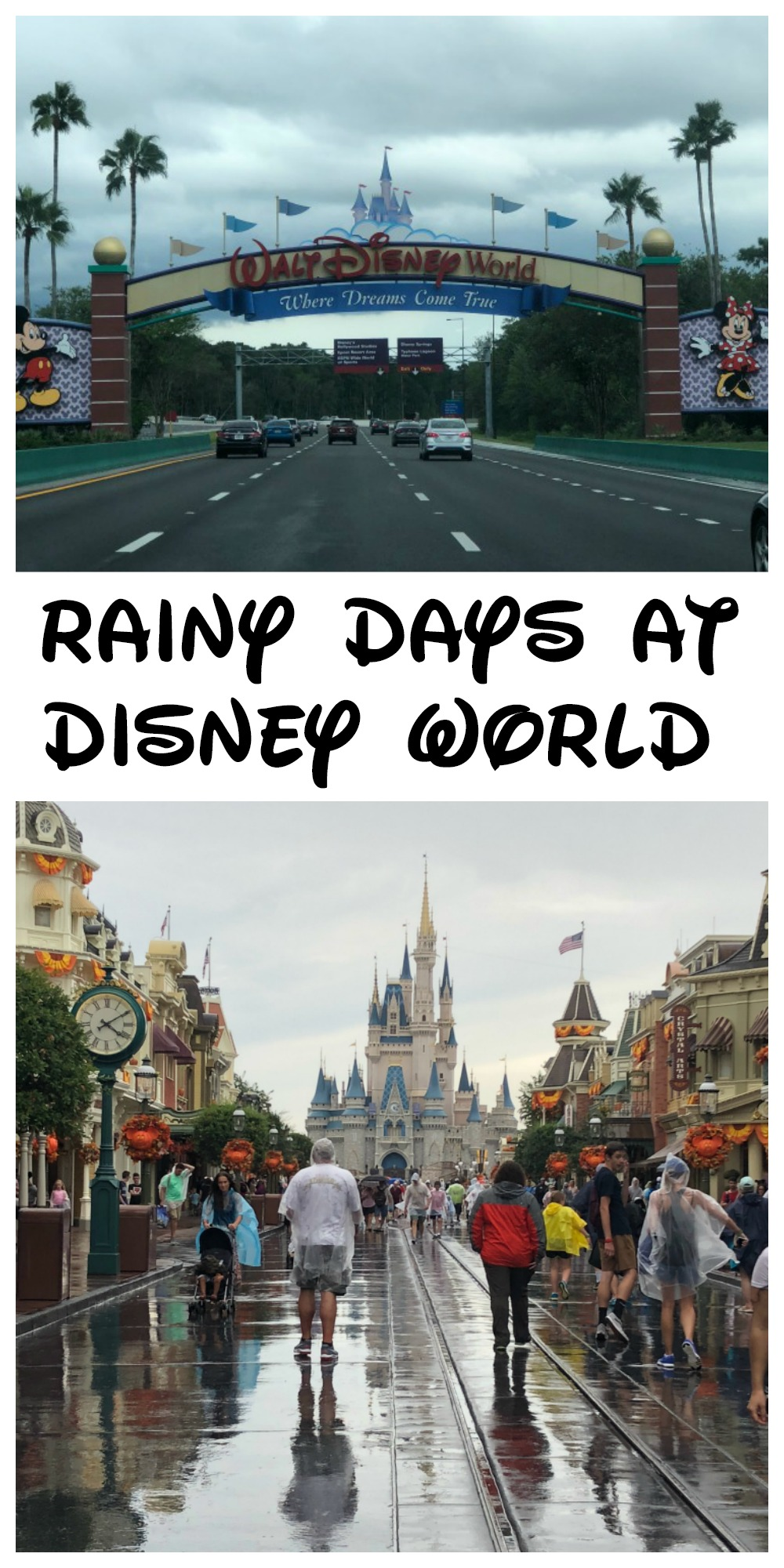 Cut down on the likelihood that your family will have your Disney vacation rained out with these helpful tips for how to beat the rain at Walt Disney World!