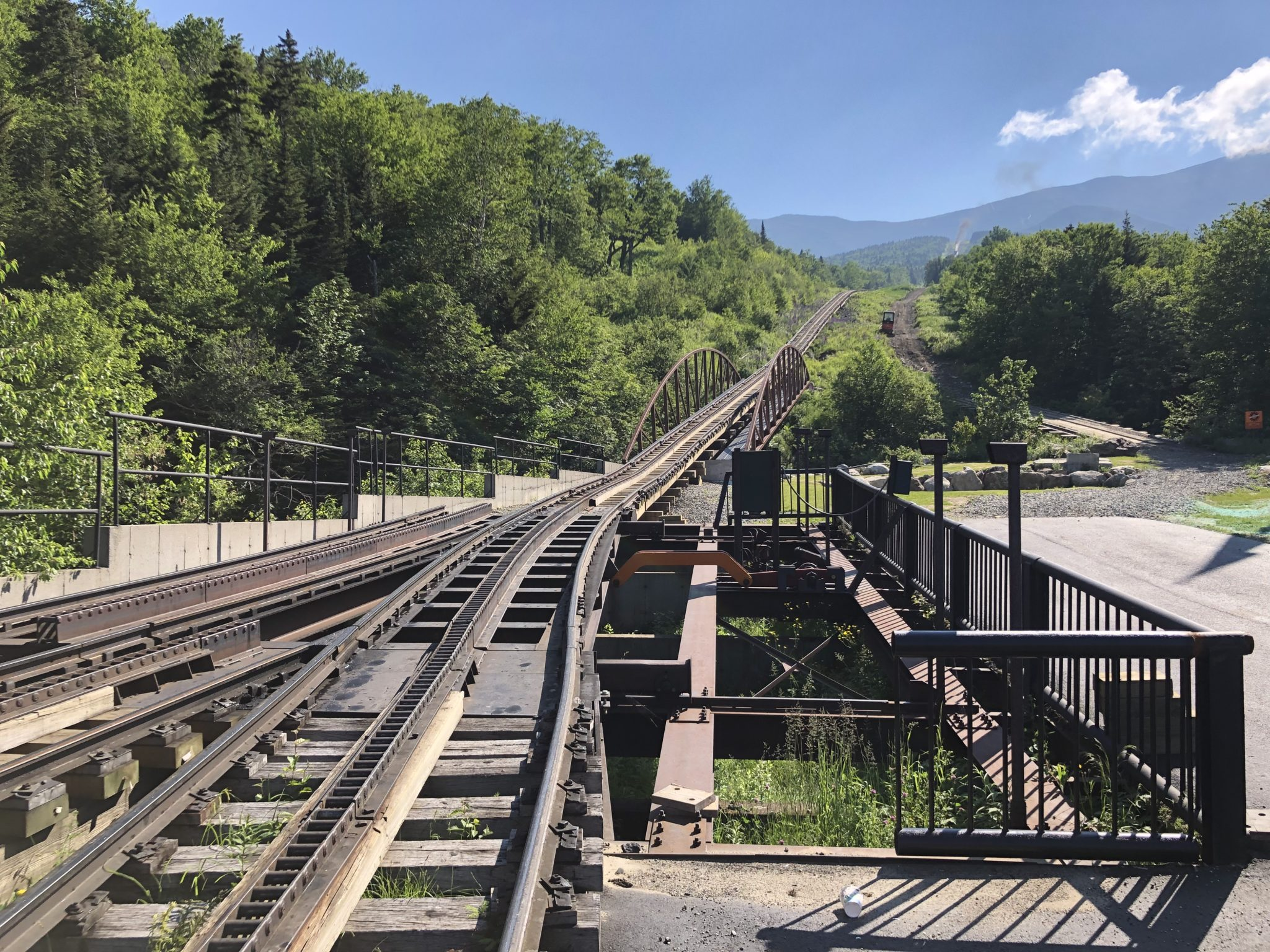 If you're in northern New Hampshire and you're looking for a fun and unique experience, the Mount Washington Cog Railway is definitley it!